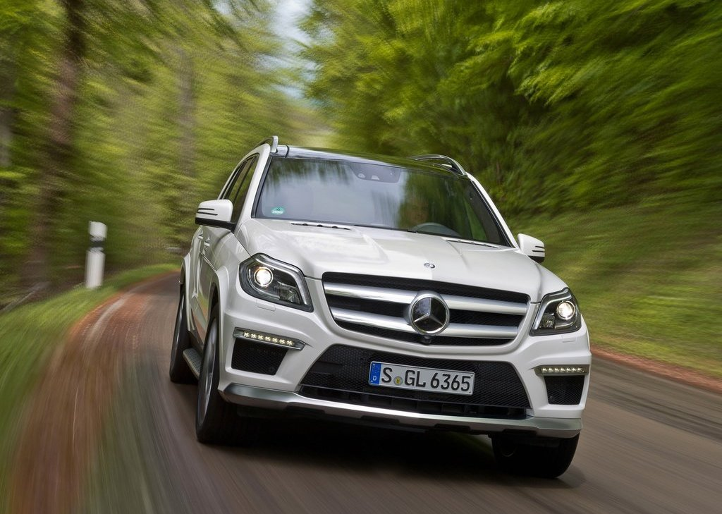 2013 Mercedes Benz GL63 AMG Front (View 5 of 15)