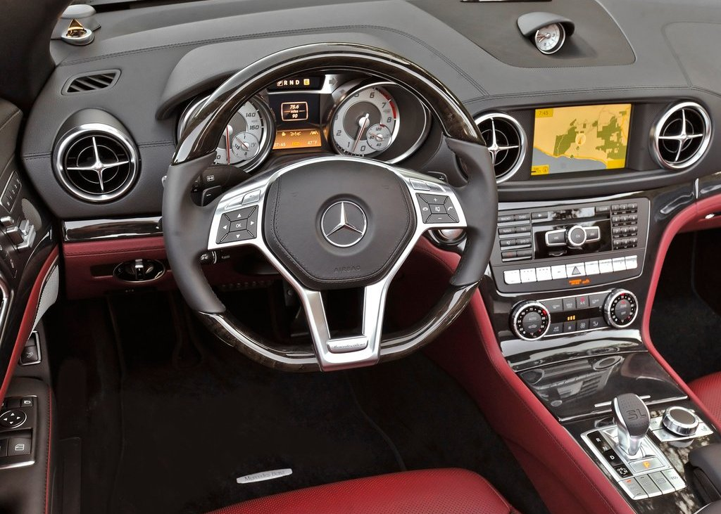 2013 Mercedes Benz SL550 Interior (View 3 of 18)