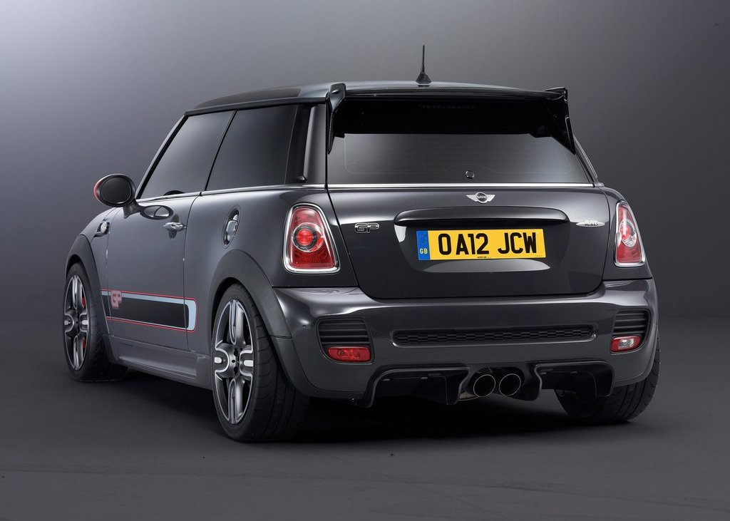 2013 Mini John Cooper Works GP Rear Angle (Photo 9 of 12)