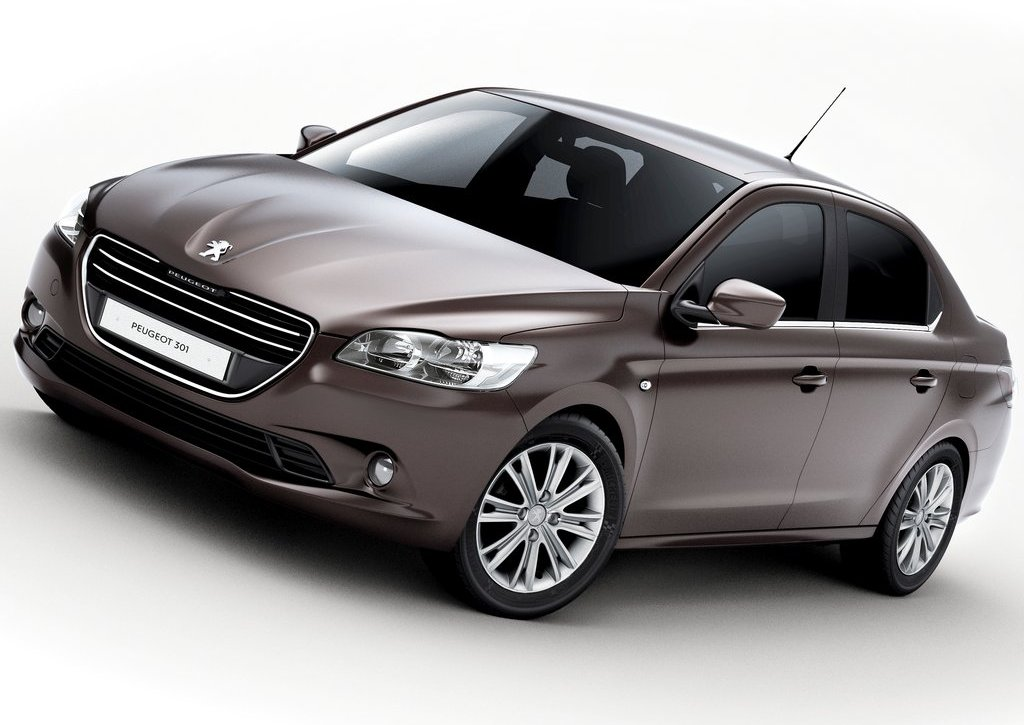 2013 Peugeot 301 Front Angle (Photo 3 of 6)