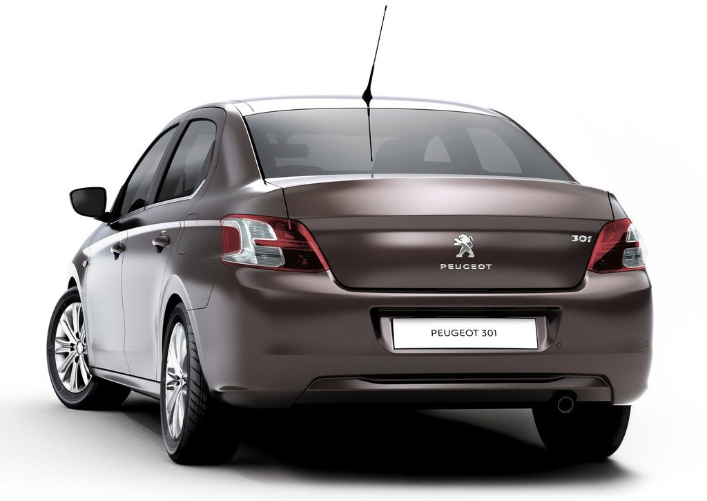 2013 Peugeot 301 Rear (Photo 5 of 6)