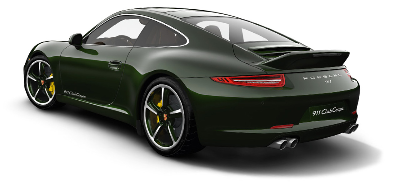 2013 Porsche 911 Club Coupe Rear Angle (View 4 of 6)