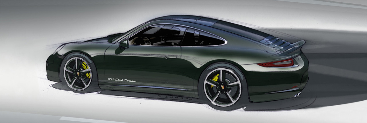 2013 Porsche 911 Club Coupe Side View (View 5 of 6)