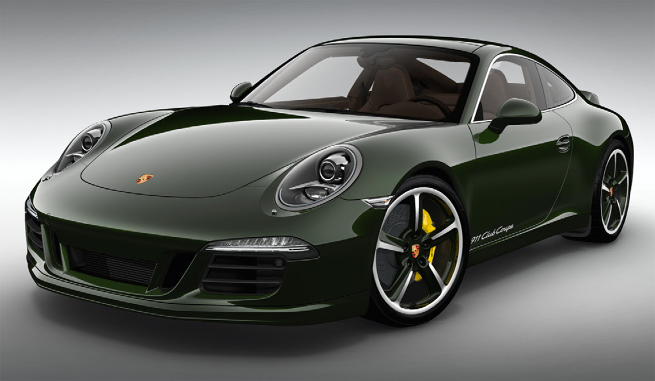 Featured Image of 2013 Porsche 911 Club Coupe Limited Edition
