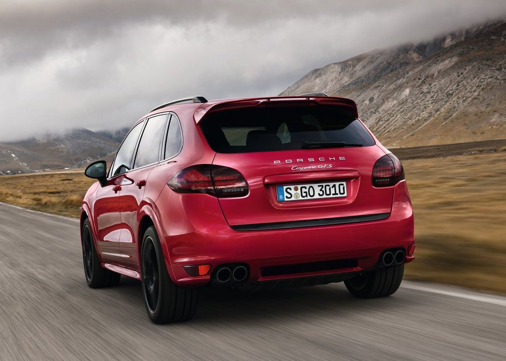 2013 Porsche Cayenne GTS Rear View (Photo 8 of 9)