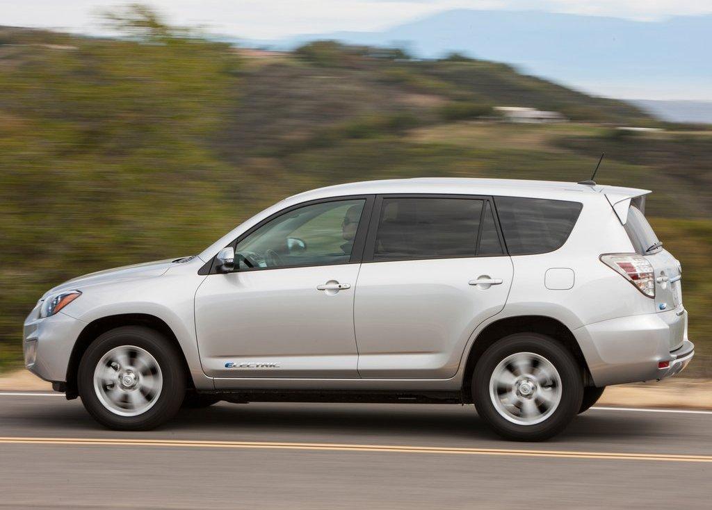 2013 Toyota RAV4 EV Left Side (View 13 of 21)