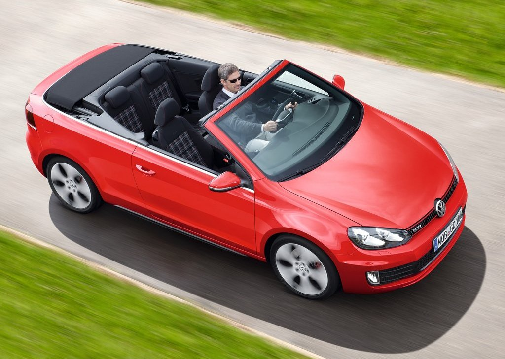 2013 Volkswagen Golf GTI Cabriolet Top View (Photo 11 of 11)