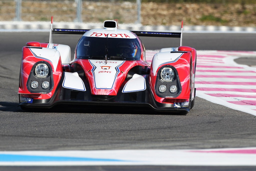 2012 Toyota Racing TS030 Hybrid Tested Pictures Gallery (6 Images)