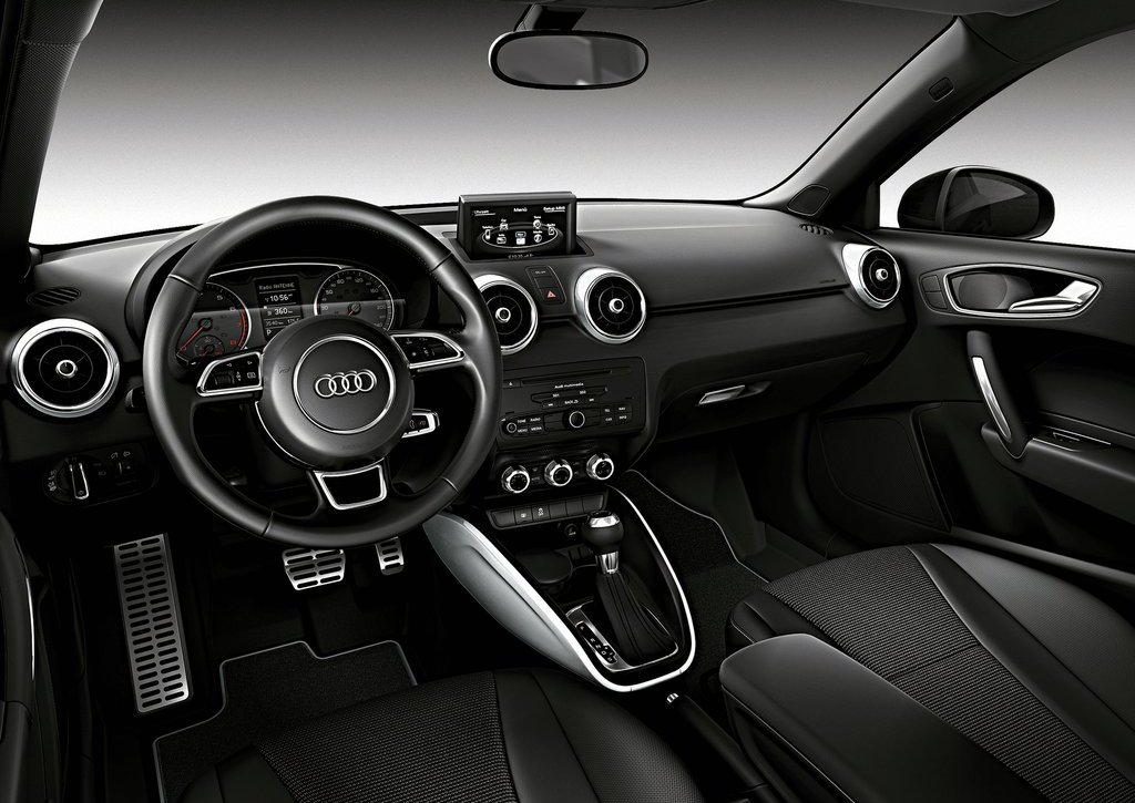 2012 Audi A1 Amplified Interior (View 3 of 8)