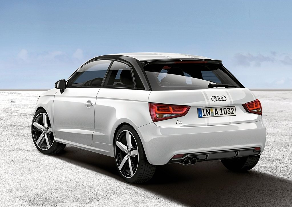2012 Audi A1 Amplified Rear (Photo 5 of 8)