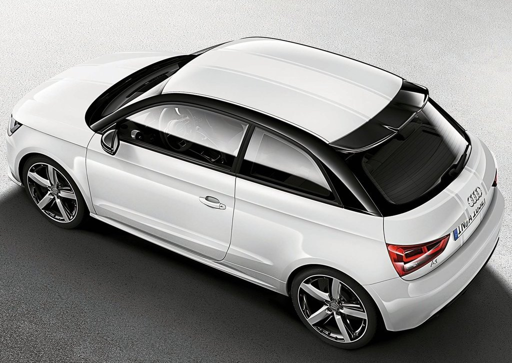 2012 Audi A1 Amplified Top View (View 7 of 8)