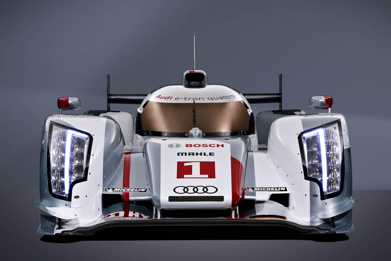 2012 Audi R18 E Tron Hybrid Quattro Front (Photo 2 of 4)