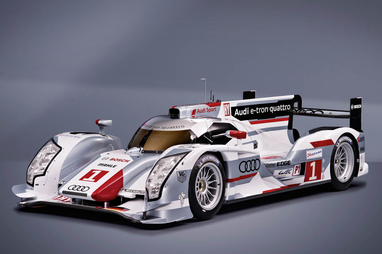 Featured Image of 2012 Audi R18 E Tron Hybrid Quattro At 24 Hours Of Le Mans