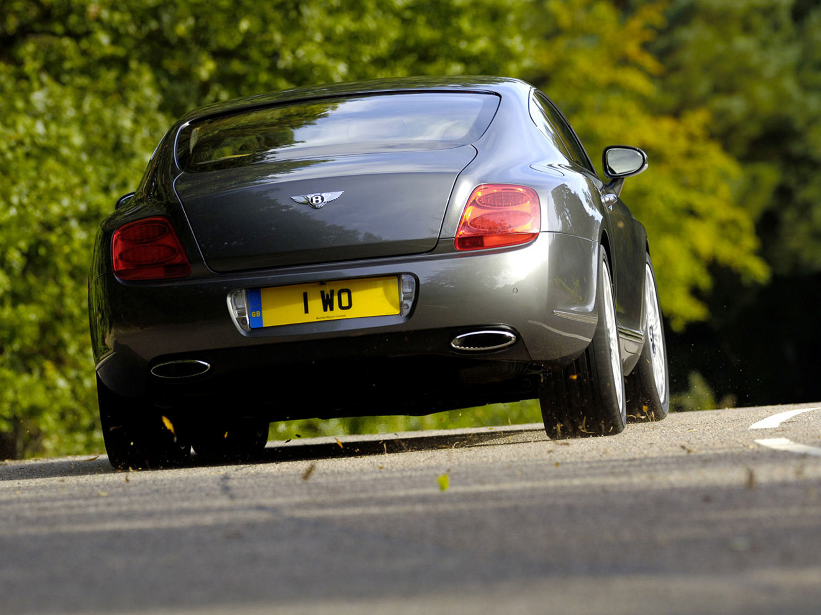 2012 Bentley Continental GT Speed Rear (Photo 4 of 6)