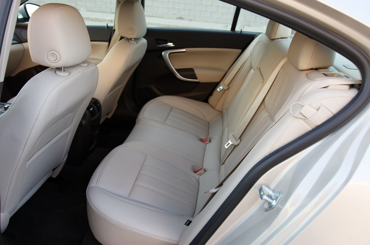 2012 Buick Regal EAssist Back Seat (View 1 of 22)