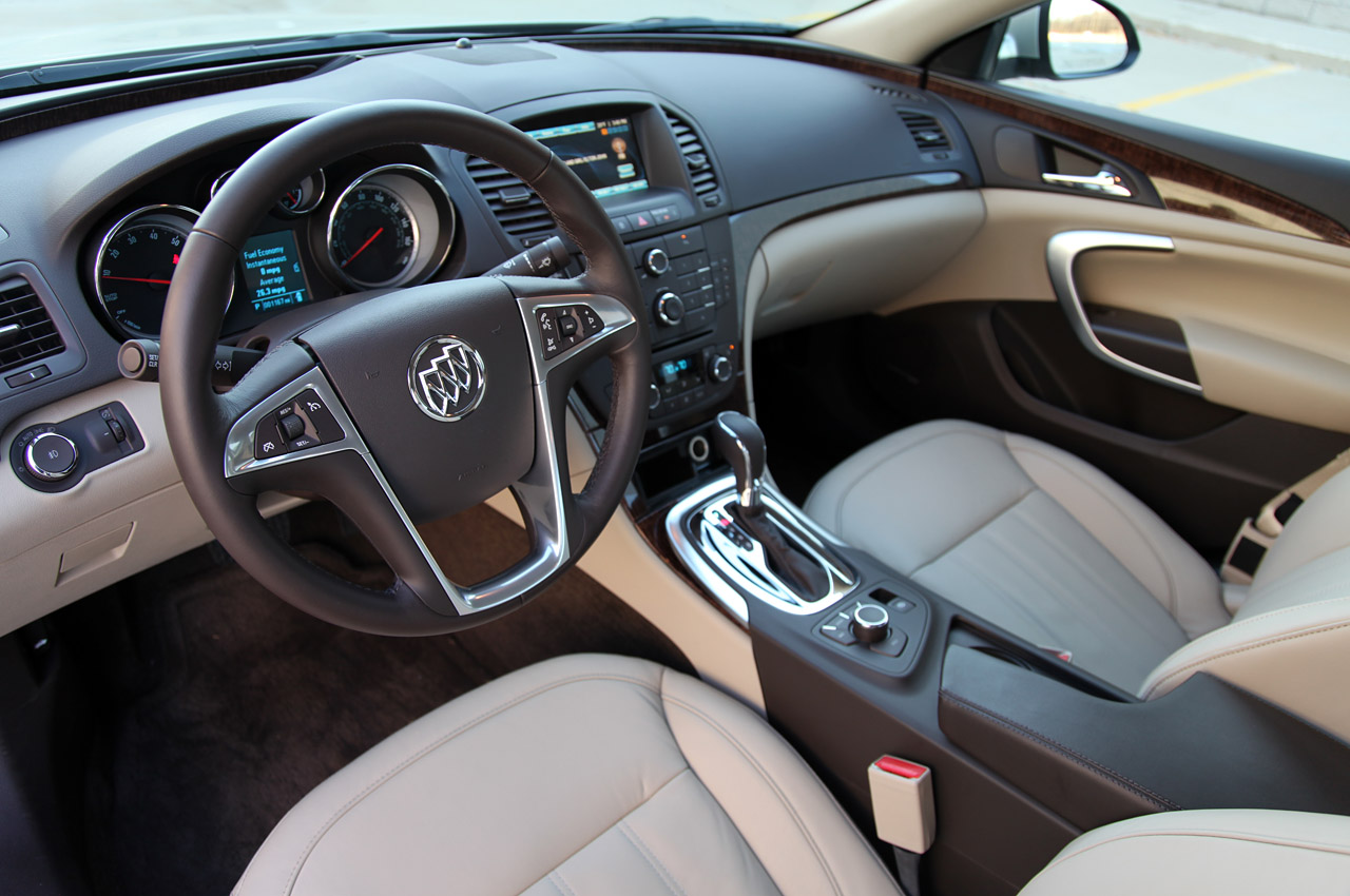 2012 Buick Regal EAssist Interior (View 12 of 22)