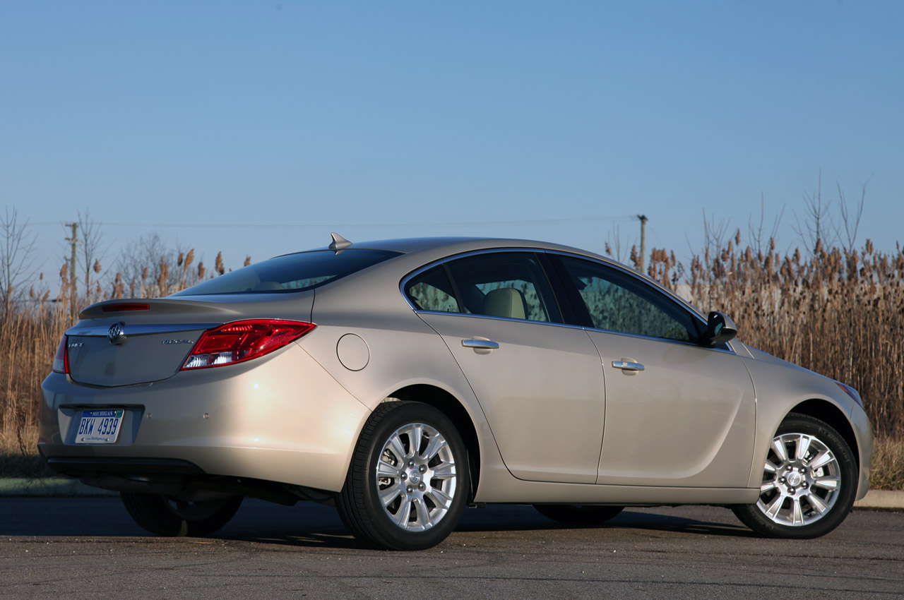 2012 Buick Regal EAssist Rear Angle (Photo 16 of 22)