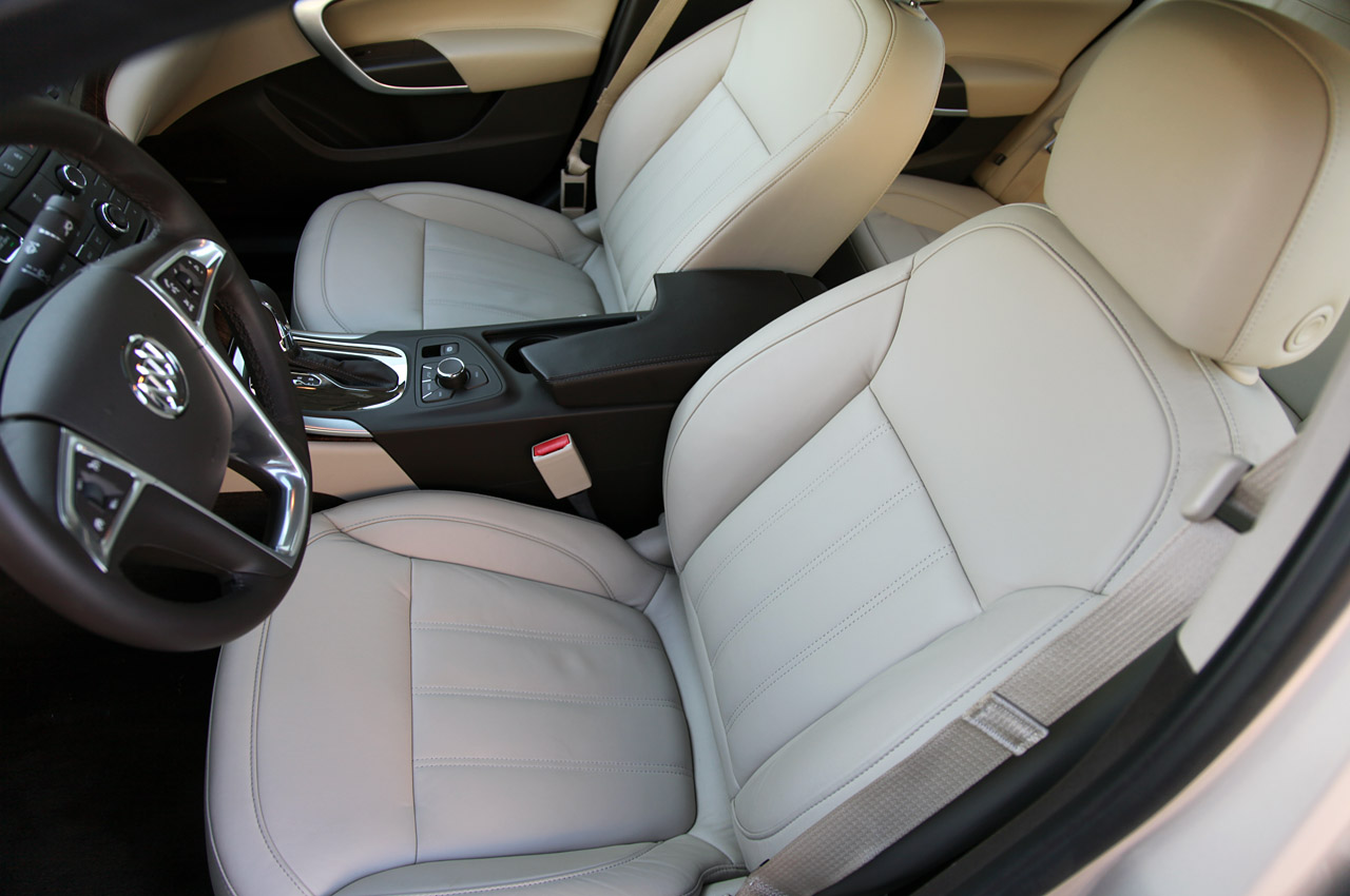 2012 Buick Regal EAssist Seat (View 16 of 22)