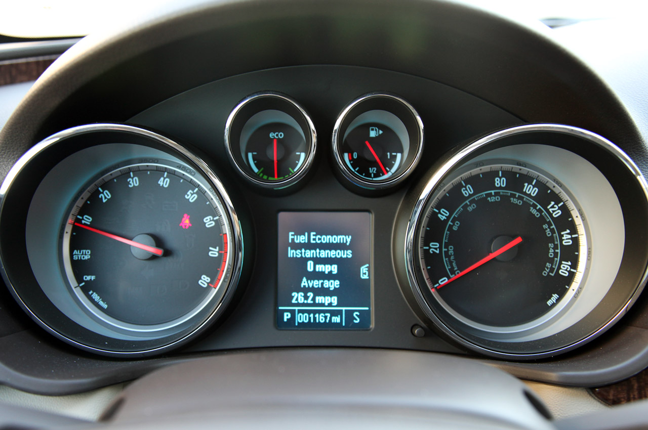 2012 Buick Regal EAssist Speedometer (Photo 19 of 22)