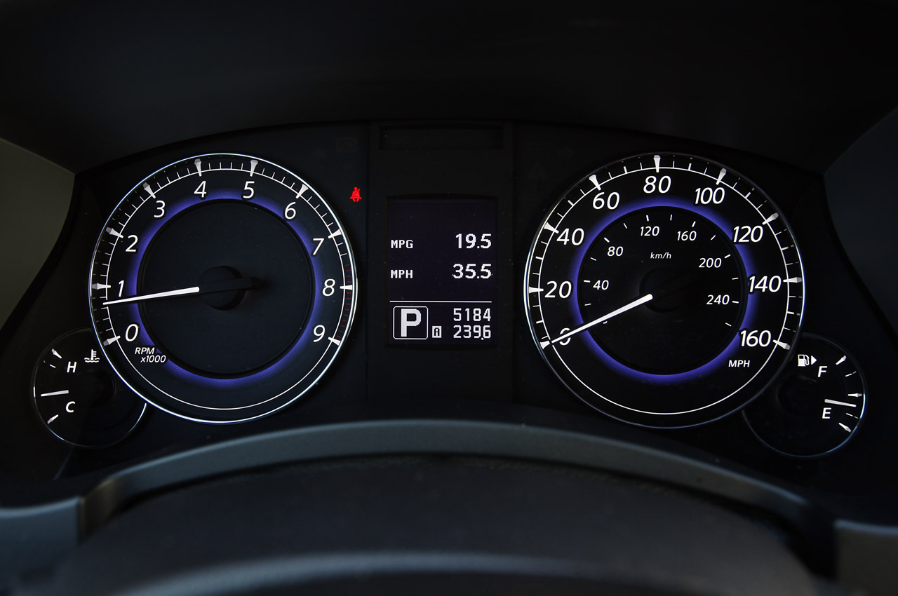 2012 Infiniti EX35 Speedometer (View 14 of 18)