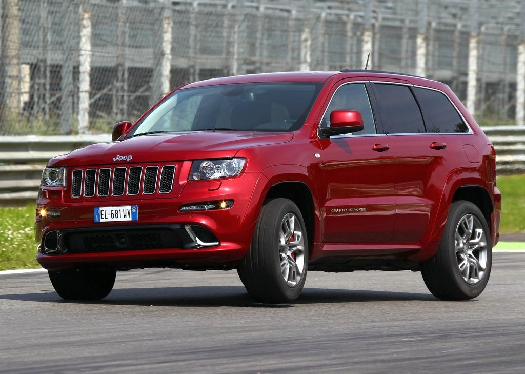 2012 Jeep Grand Cherokee SRT8 Front Angle (View 8 of 21)