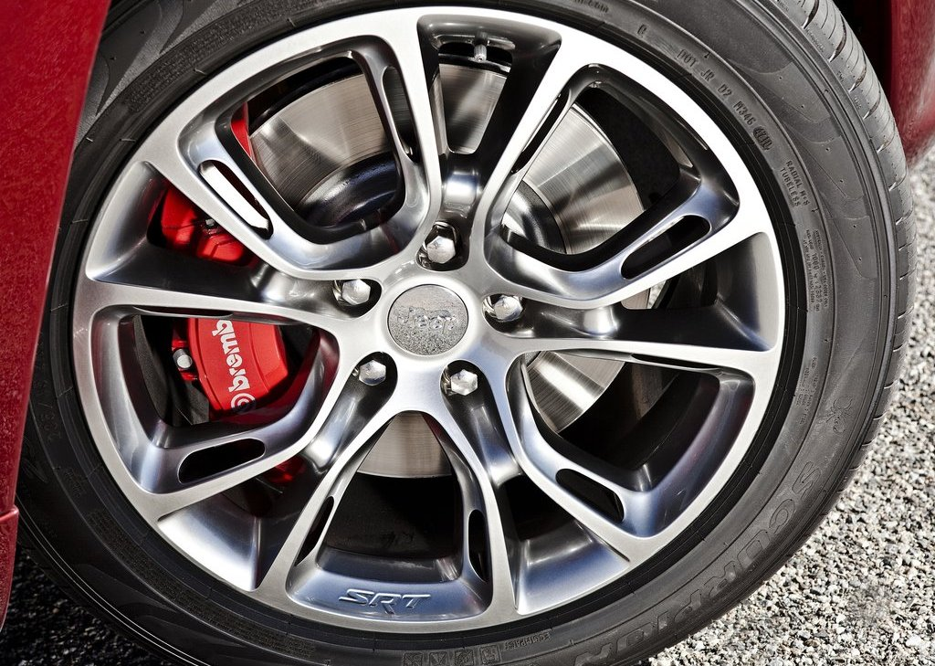 2012 Jeep Grand Cherokee SRT8 Wheels (View 19 of 21)
