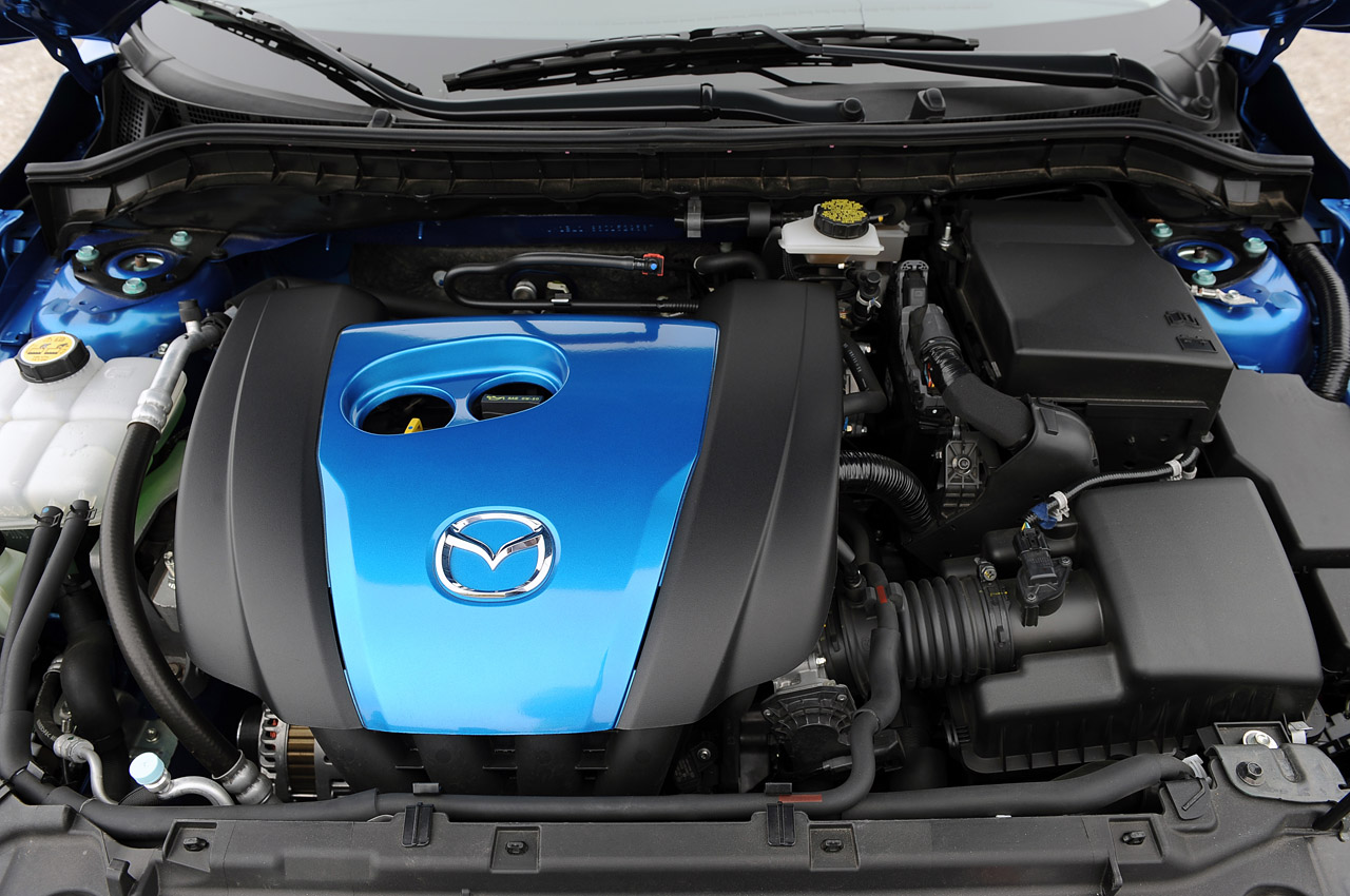 2012 Mazda3 Skyactiv Engine (Photo 4 of 23)
