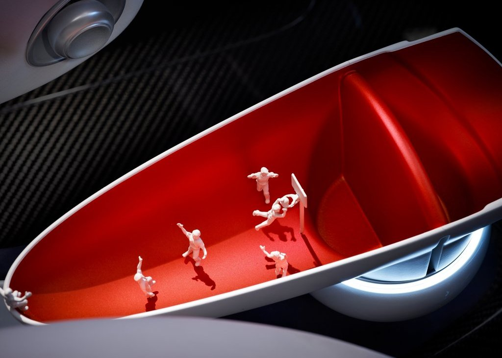 2012 Mini Rocketman Concept Interior (View 4 of 9)