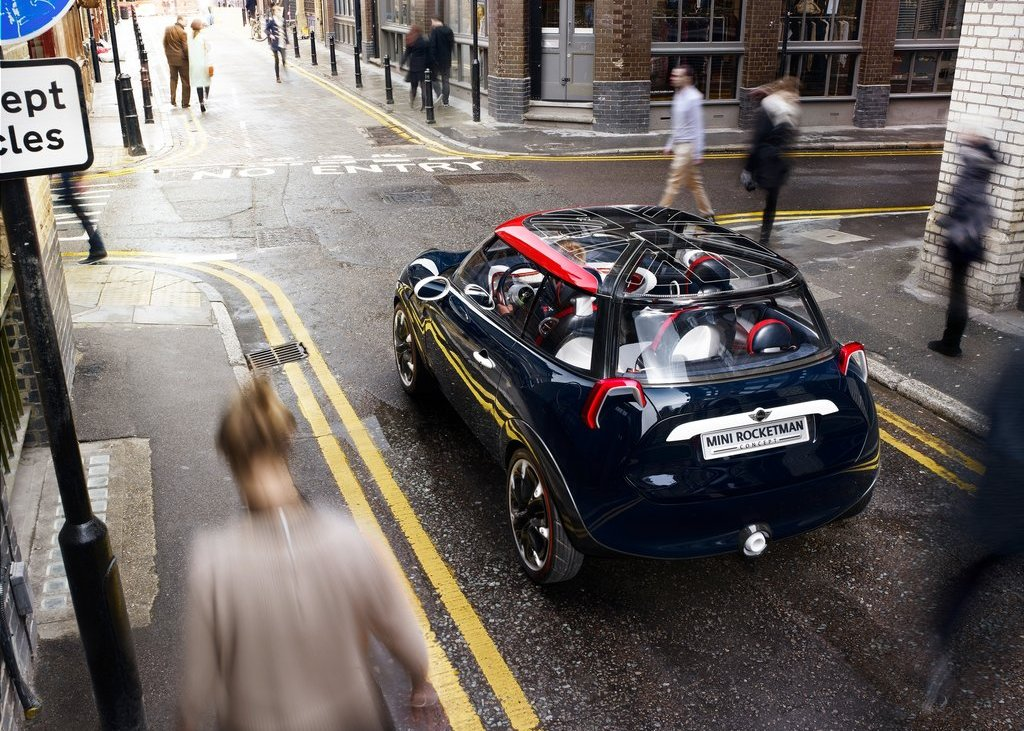 2012 Mini Rocketman Concept Rear (Photo 7 of 9)