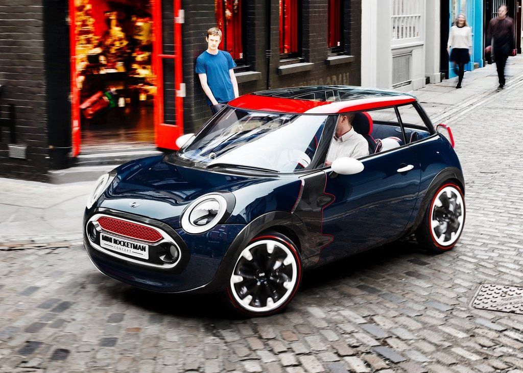 2012 Mini Rocketman Concept for Summer Olympic Pictures Gallery (9 Images)
