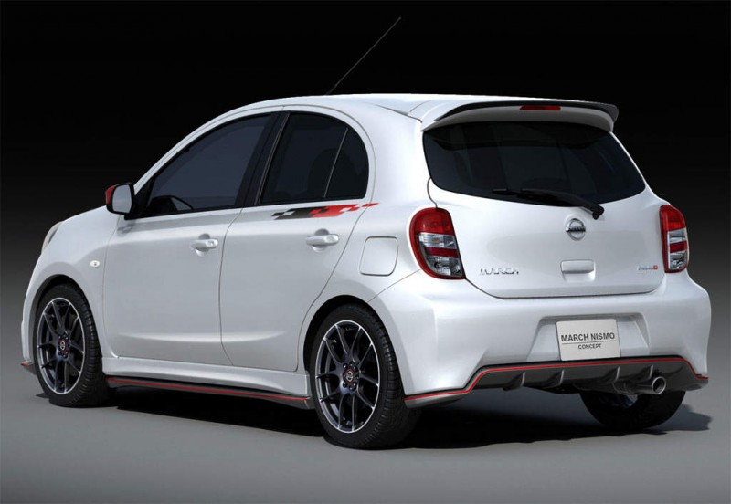 2012 Nissan Micra Nismo Rear (Photo 2 of 2)
