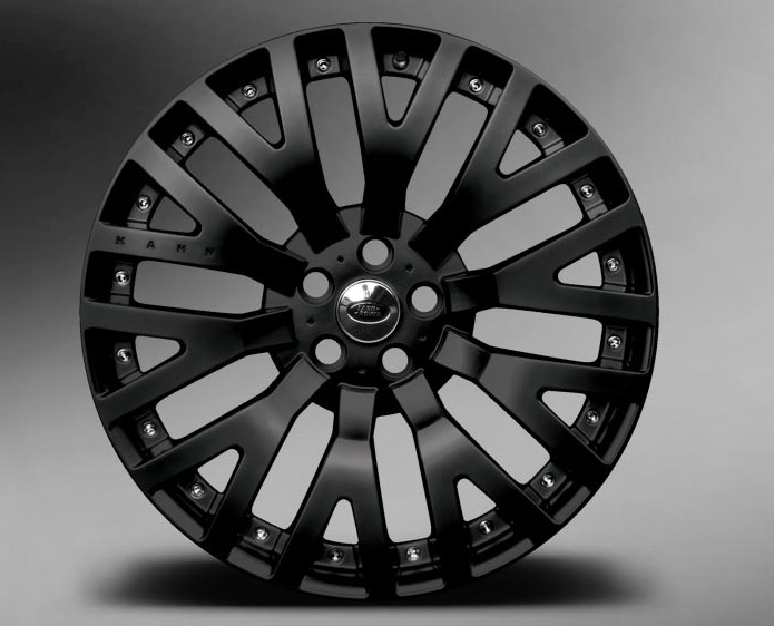 2012 Range Rover Westminister Black Label Edition Velg (Photo 5 of 5)