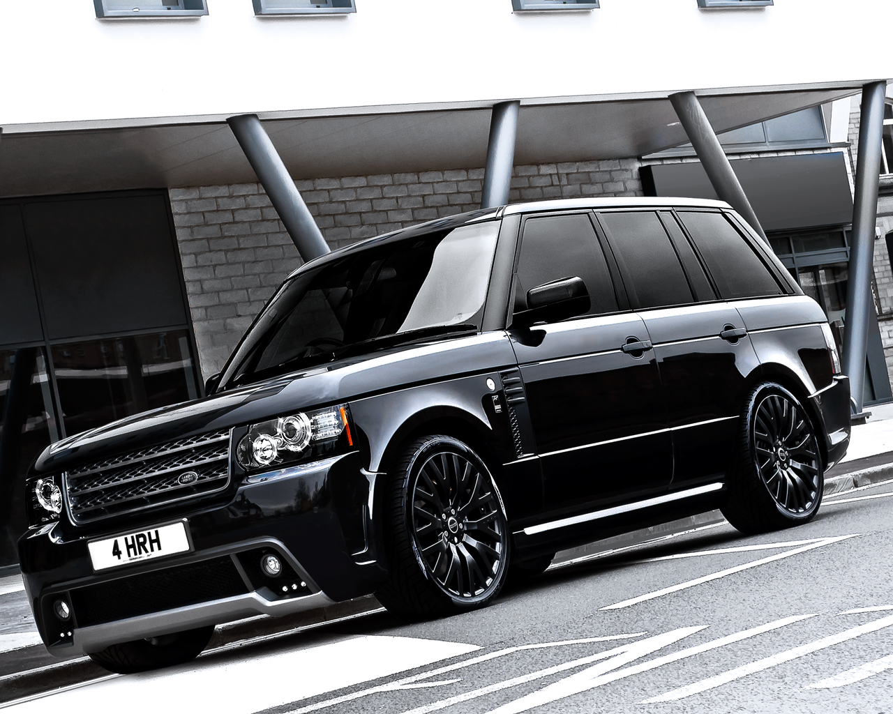 Featured Image of 2012 Range Rover Westminister Black Label Edition   Kahn Design