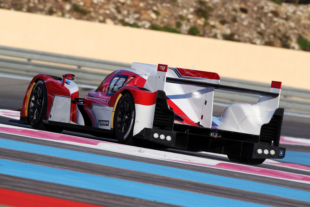 2012 Toyota Racing TS030 Hybrid Rear Angle (Photo 5 of 6)