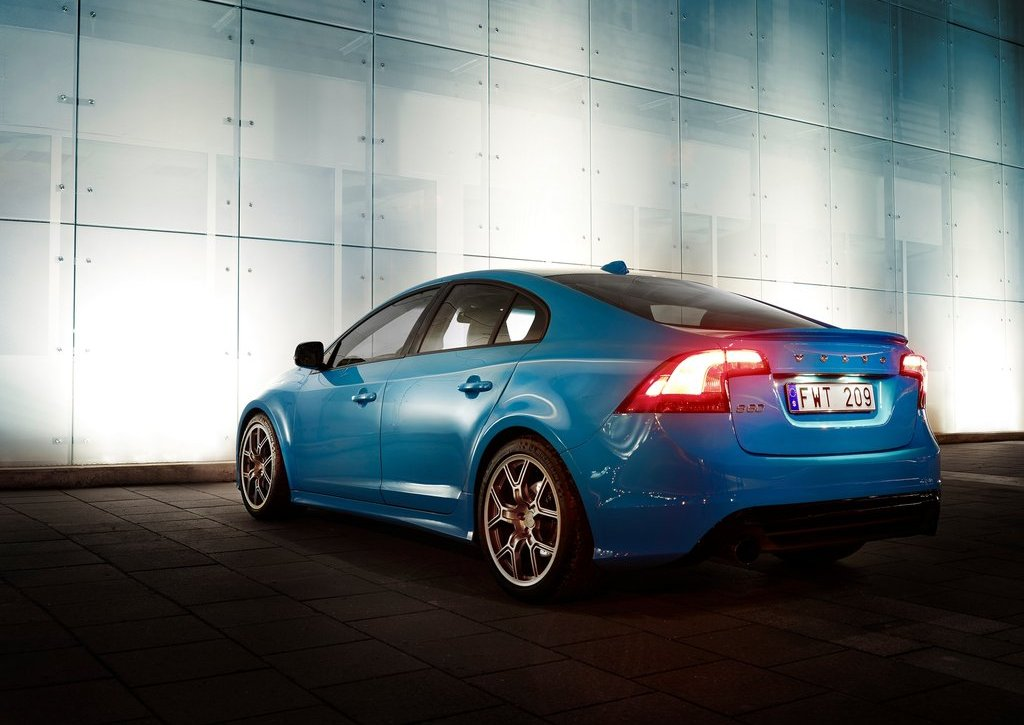2012 Volvo S60 Polestar Concept Rear (Photo 6 of 6)