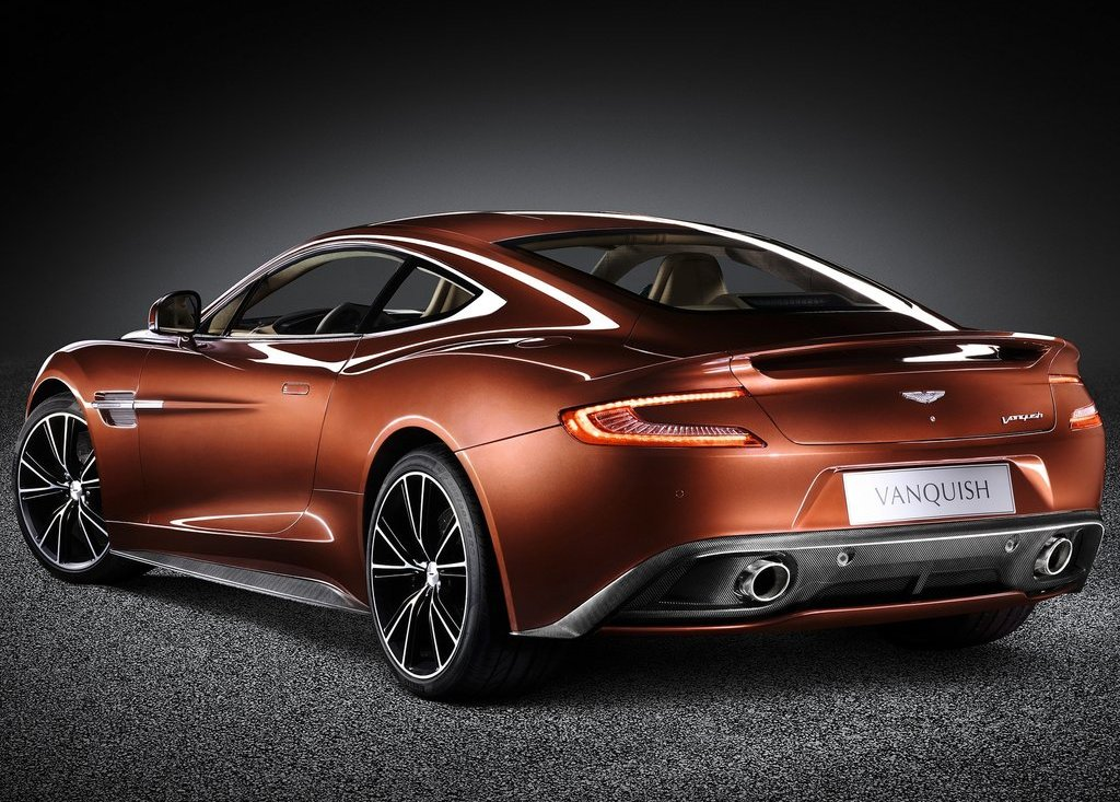 2013 Aston Martin AM 310 Vanquish Rear Angle (View 4 of 7)