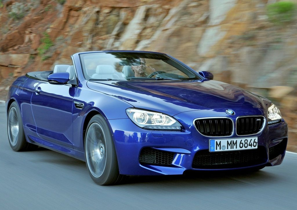 2013 BMW M6 Convertible Front Angle (Photo 9 of 25)