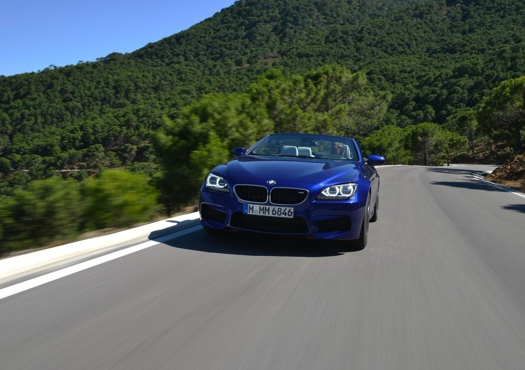 2013 BMW M6 Convertible Front View (Photo 10 of 25)