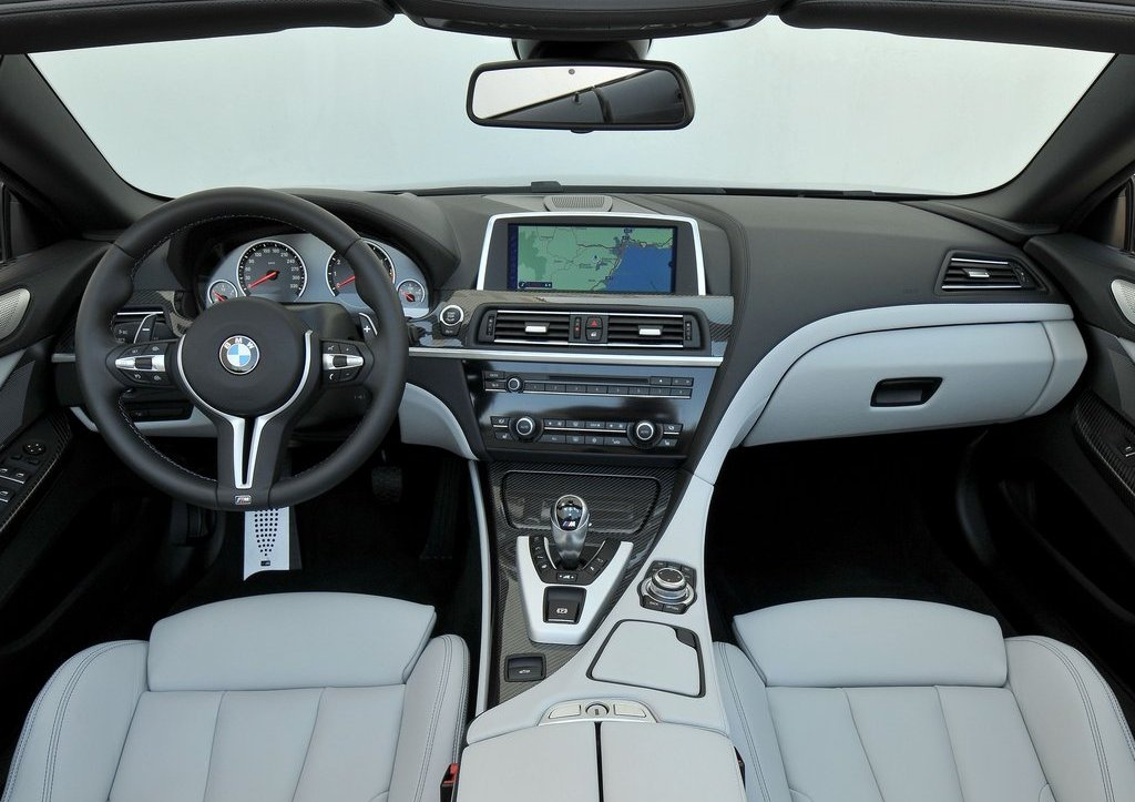 2013 BMW M6 Convertible Interior (Photo 14 of 25)