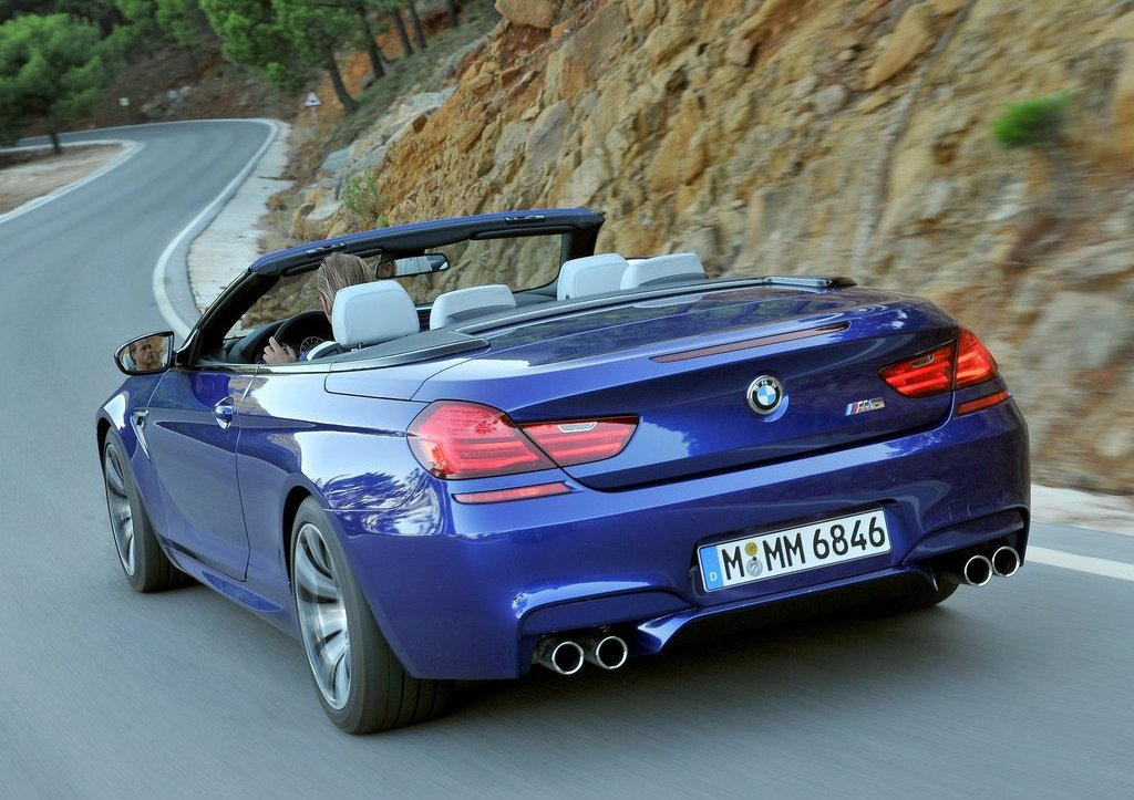 2013 BMW M6 Convertible Rear Angle (Photo 17 of 25)