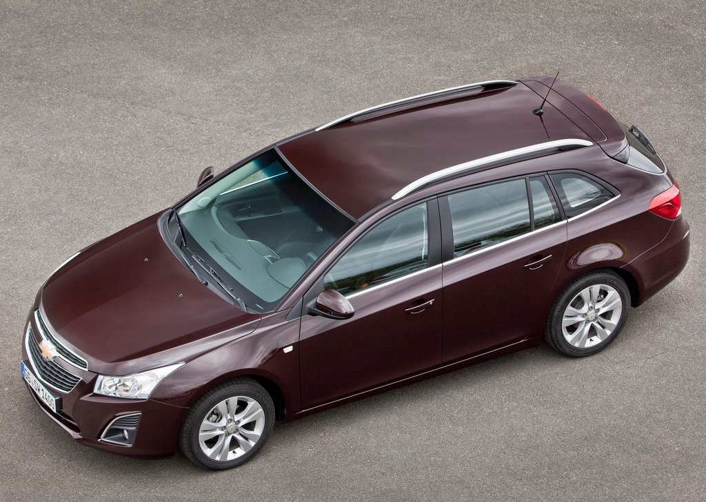 2013 Chevrolet Cruze Station Wagon Top View (View 22 of 24)