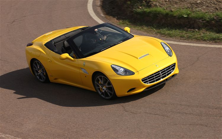 2013 Ferrari California Top View (View 7 of 8)