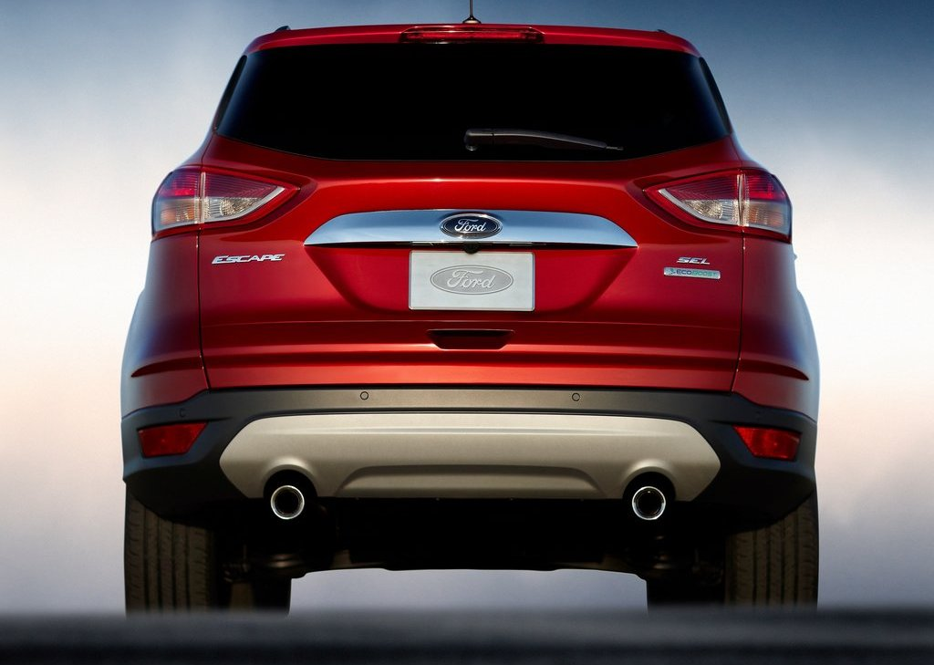 2013 Ford Escape Rear (View 20 of 31)