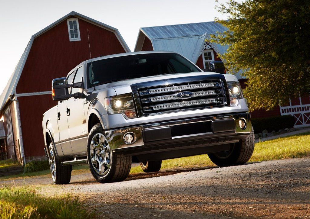 2013 Ford F 150 Front View (Photo 9 of 16)