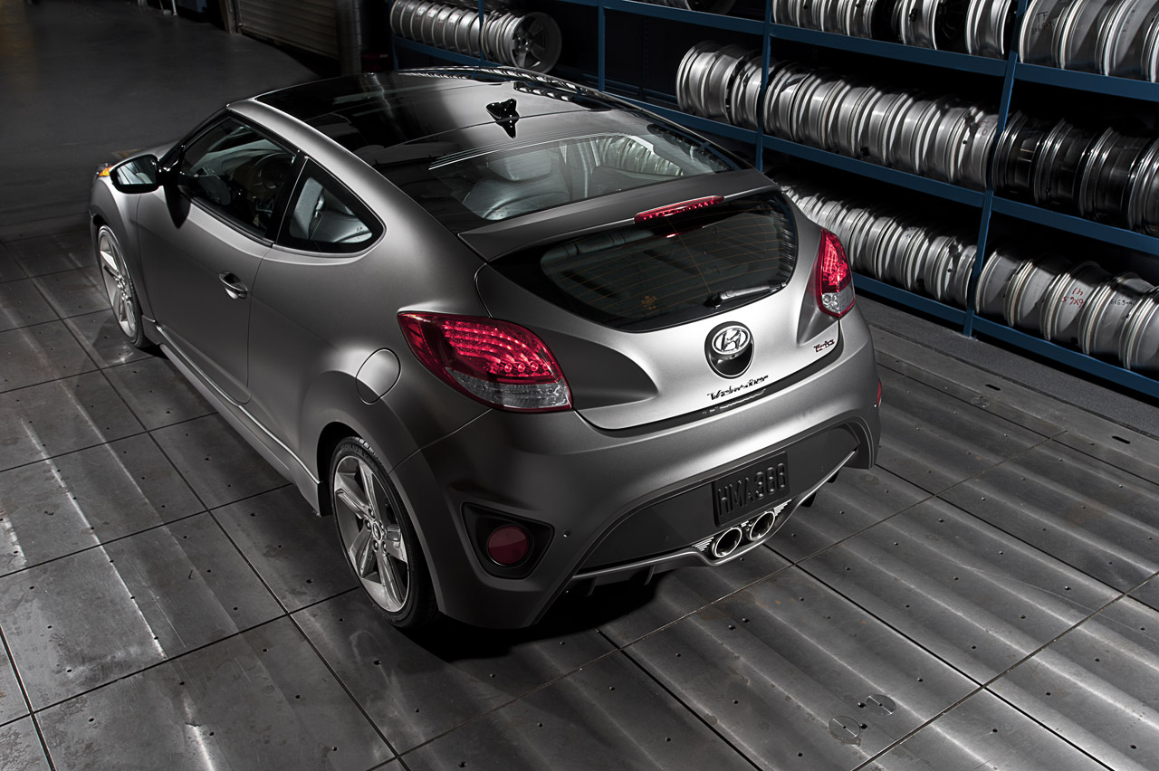 2013 Hyundai Veloster Turbo Top View (Photo 10 of 11)