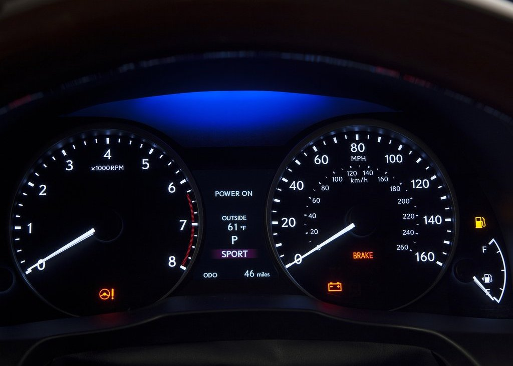 2013 Lexus ES350 Speedometer (Photo 13 of 15)