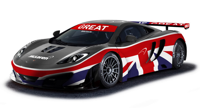 2013 McLaren 12C GT3 unveiled at Goodwood Festival of Speed Pictures Gallery (2 Images)
