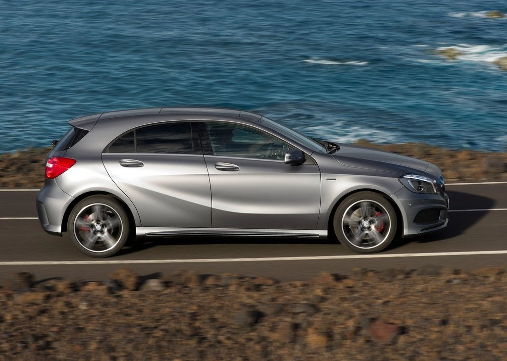 2013 Mercedes Benz A Class Side (Photo 19 of 21)