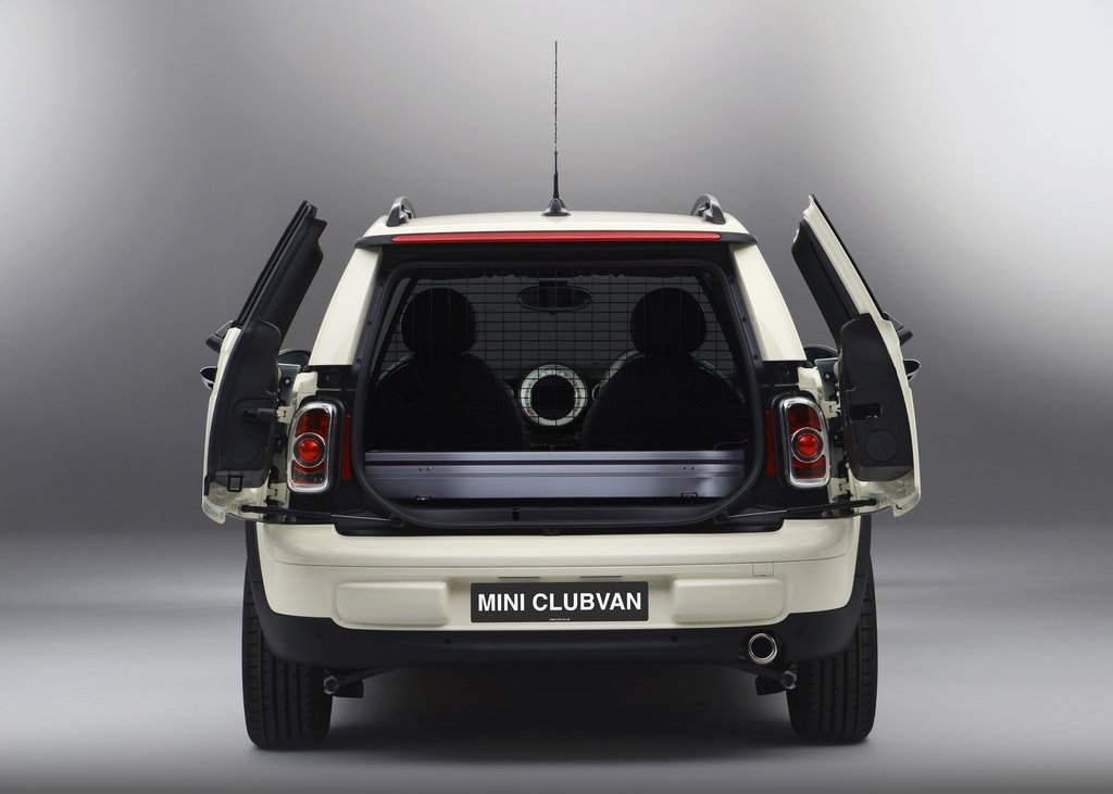 2013 Mini Clubvan Rear View (Photo 6 of 8)