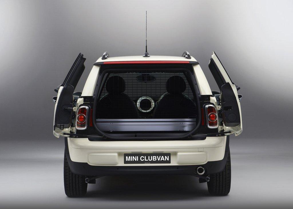 2013 Mini Clubvan Rear View (View 4 of 8)